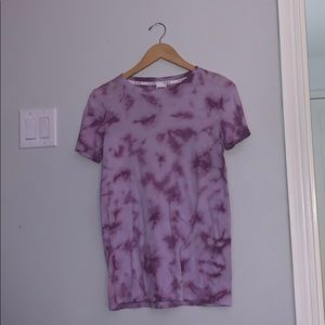 VS Pink Purple Tie-Die basic Tee